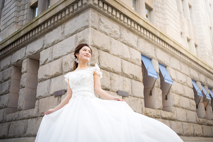 Yumi Katsura 衣装 + SORAIRO フォト洋装1着プラン